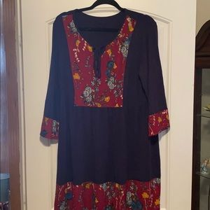 Tunic/dress(depending on your height)  1xl